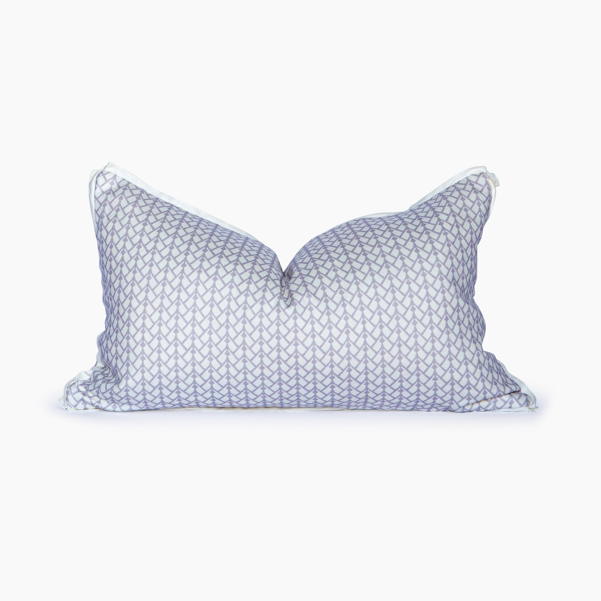 Oklahoma Herringbone Heather Lumbar Pillow