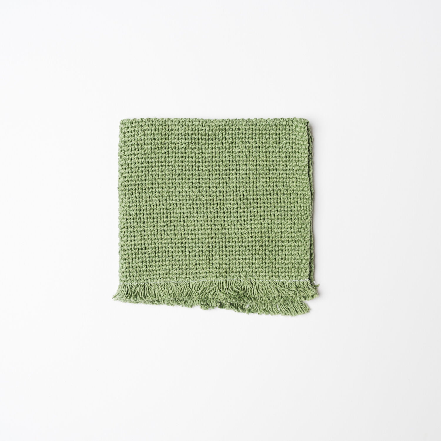 KD Weave Green Wash Cloth