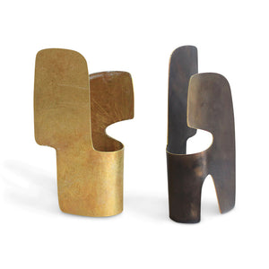 Planar Form 8, Brass or Olive