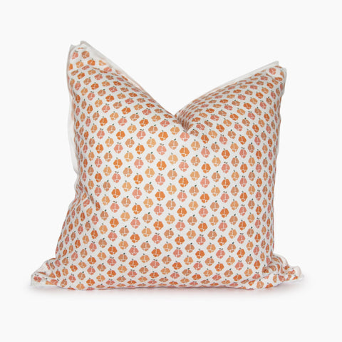 Georgia Peaches Square Pillow