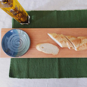 Cutting Board & Dipping Bowl