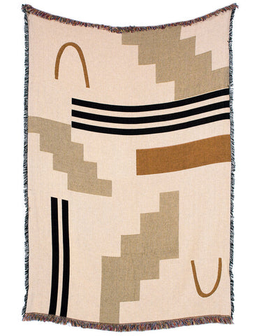 Sand + Dune Throw Blanket