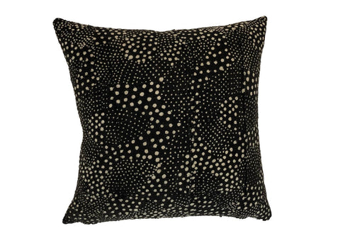 Starry Night in Black Pillow