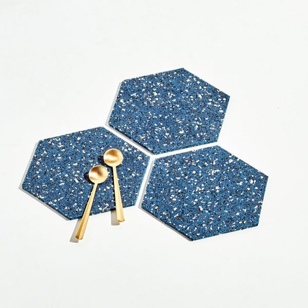Hex Trivet Trio, Set of 3