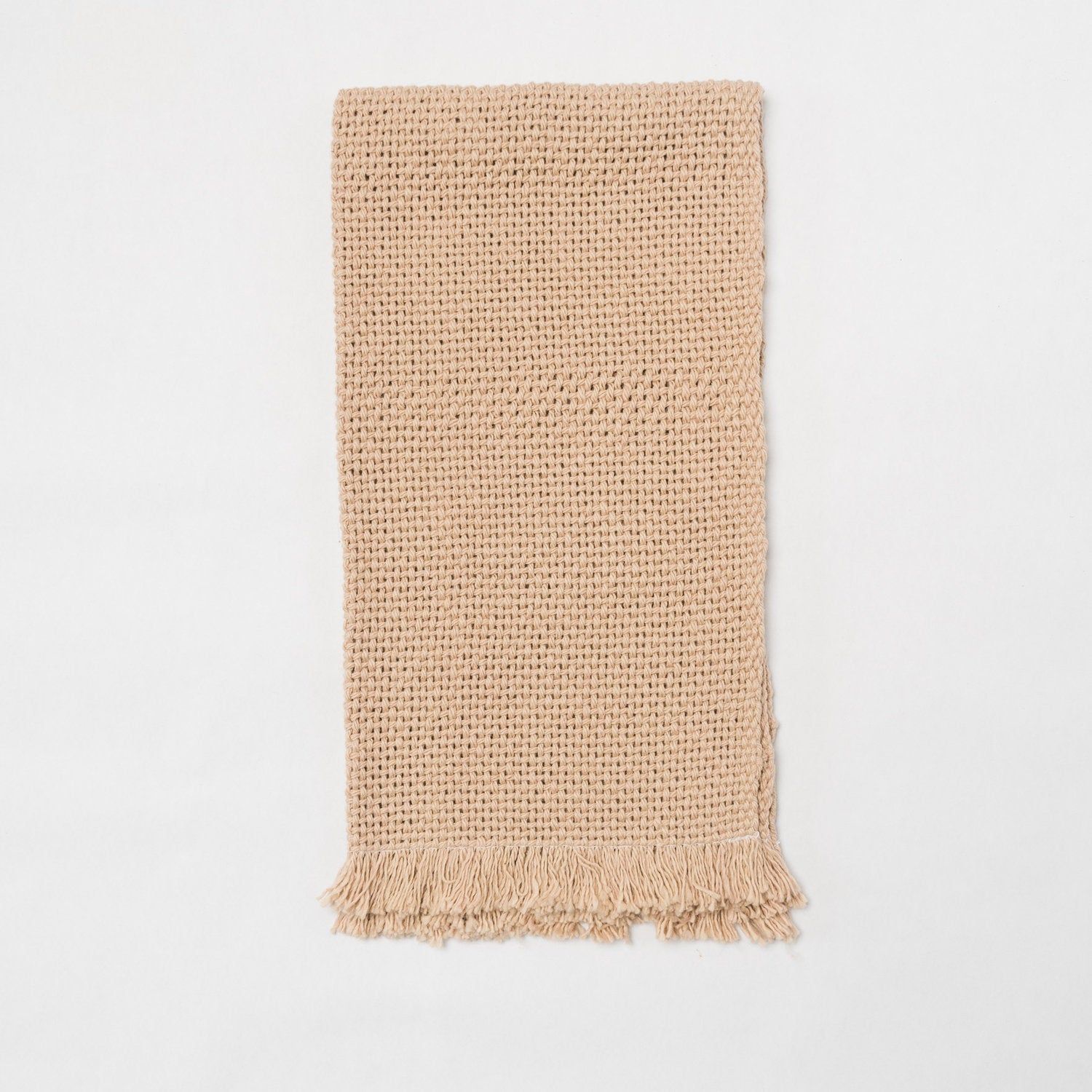 KD Weave Tan Hand Towel, Set of 2