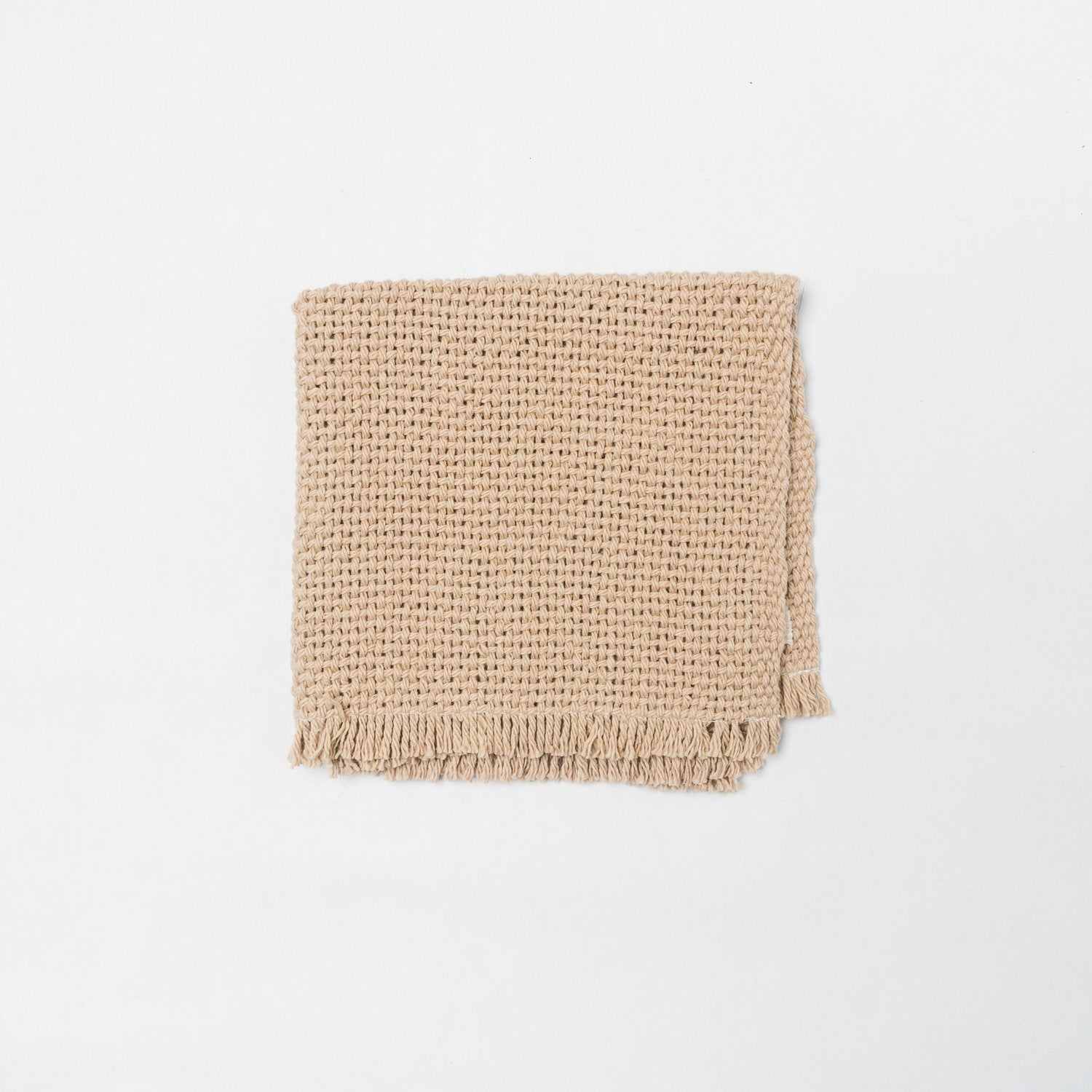 KD Weave Tan Wash Cloth, Set of 2