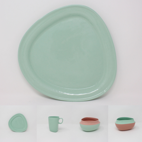 Bermuda Top Curve Place Setting, 4-piece