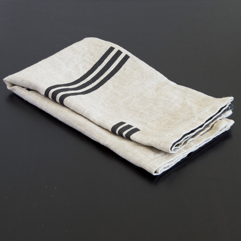 Charcoal Lines Stone Napkin