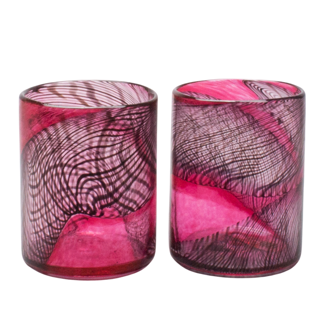 Dark Matter Red Tumblers, Set of 2