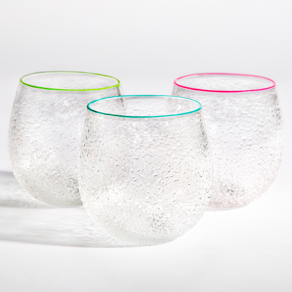 PG Original Sparkle Cup with Colored Rim