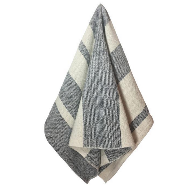 Everyday Bath Hand Towel Gray