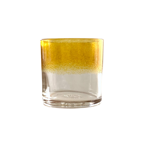 Yellow Ombre Glass Tumbler