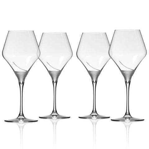 Mid-Century Modern Winetini Glass, Set of 4