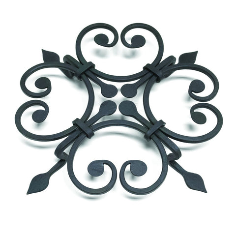 Taper and Diamond Forged Steel Trivet