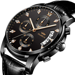 Luxor Leather Diamond Watch™
