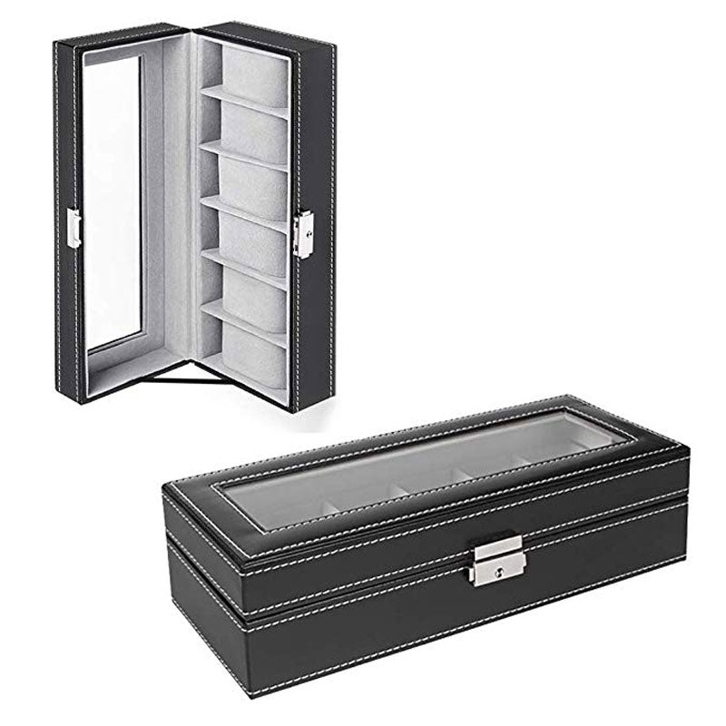 Luxor Watch Display Case Box Organizer™