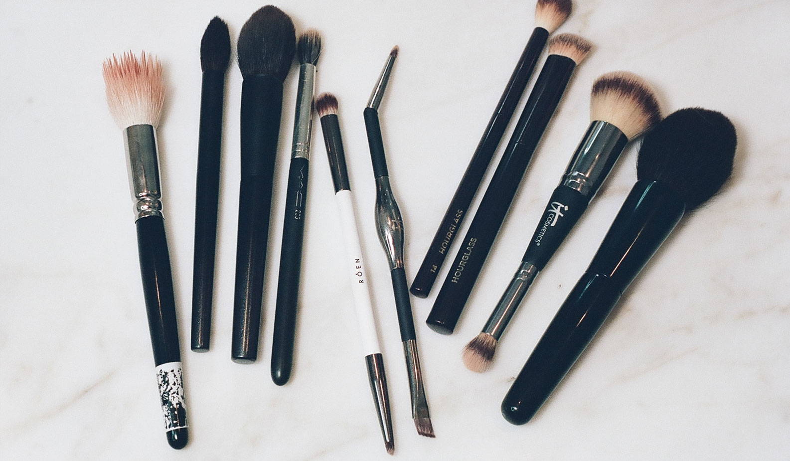 In My Bathroom: Rosie's Top Ten Makeup Brushes