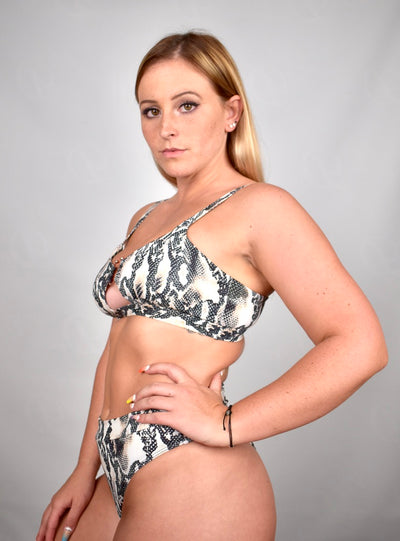 Gina's Animal Print Bikinis