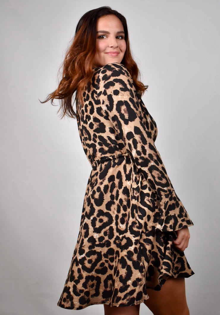 Summer's Chiffon Leopard Dress