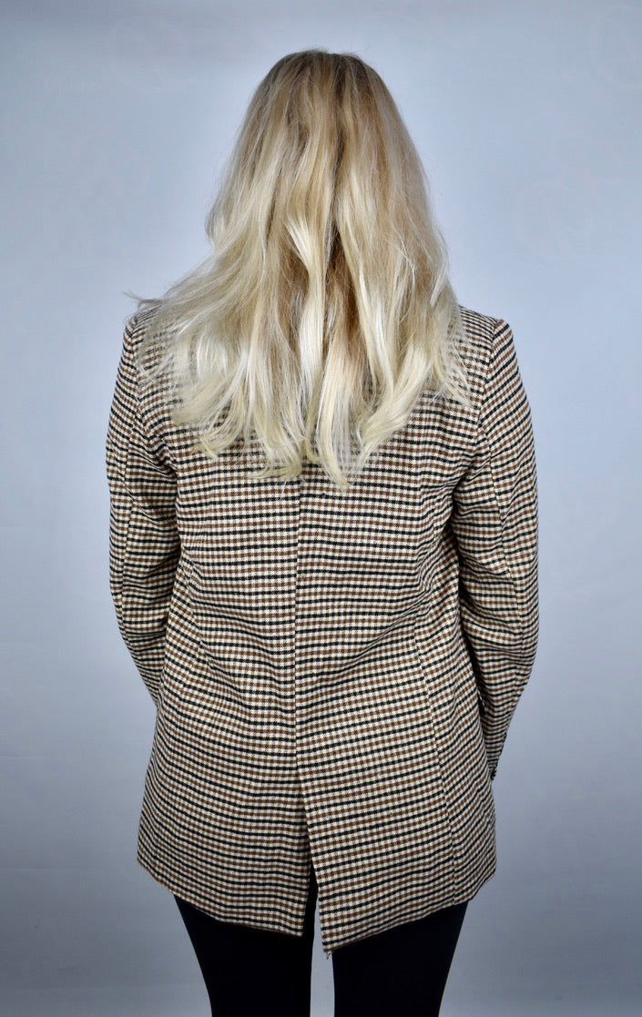 Annie's Plaid Suit Jacket