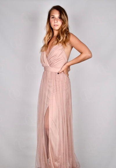 Carrie's Floor Length Spring Dress