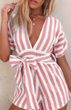 Claire's Striped Romper