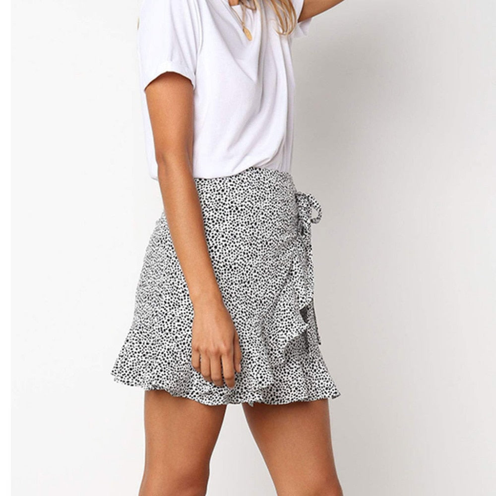 Emily's Retro High Waist Skirt
