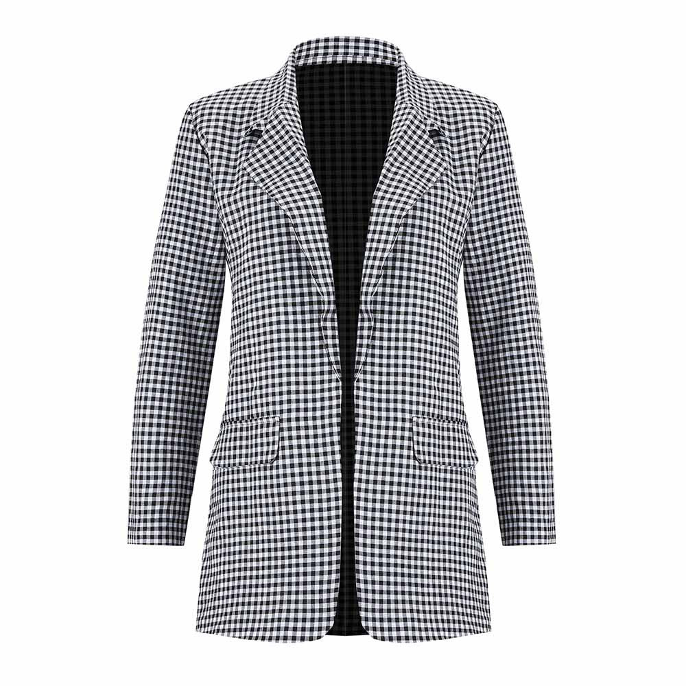 Andie's Checkerd Blazer