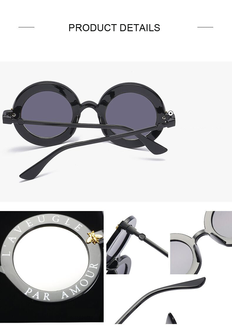 Rosie's Retro Round Sunglasses