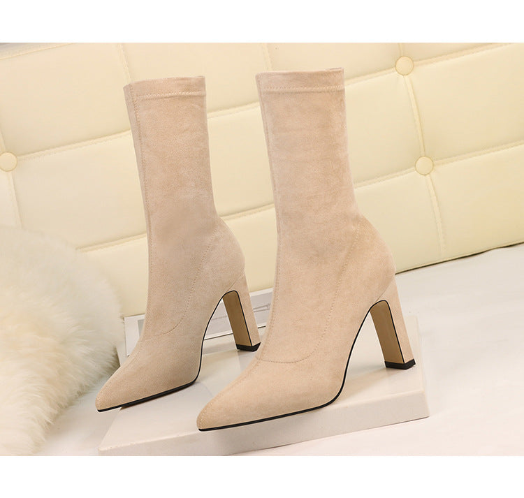 Sabrina's High Heel Ankle Boots
