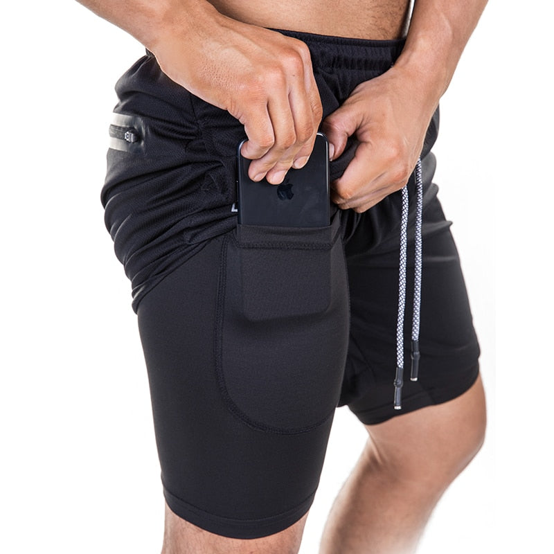 Slim Breathable Mesh Shorts- King_Lion_Shop