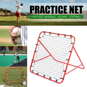 Adjustable Soccer Football Rebound Target Mesh Net- King_Lion_Shop
