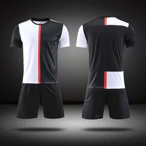 2019Blank Soccer Jersey & shorts Adults & children jerseys Football uniform Soccer Training Suit Running Sportswear Customized- King_Lion_Shop