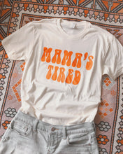 Load image into Gallery viewer, Mama's Tired Tee (Orange)