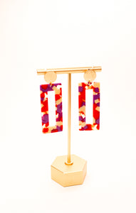 Mod Fashion Earrings: Ring Pop Mix