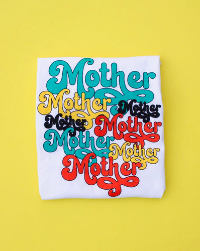 Retro Mother Tee (White)