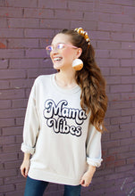 Load image into Gallery viewer, Mama Vibes Vintage Sweatshirt
