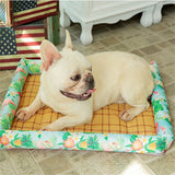 Pet Mat/Floor Bed Indoor Outdoor Cool for Summer