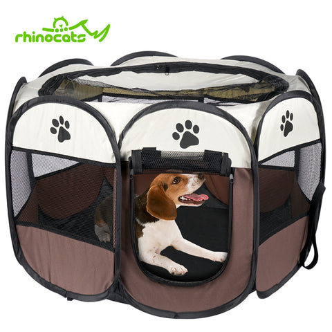 Dog House Outdoor Indoor Playpen