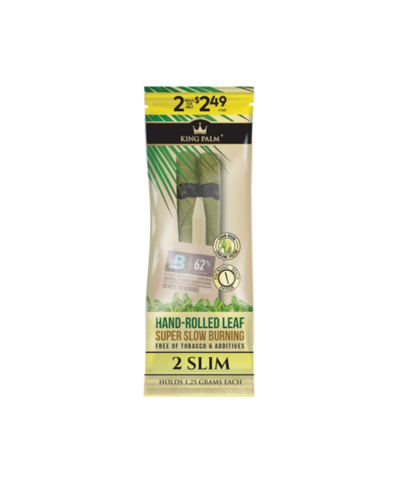 KING PALM SLIM 2 PACK (EACH 1.5 GARM CAPACITY)