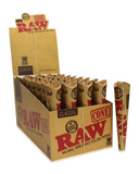 RAW CLASSIC PRE-ROLLED CONES (3PK OR 6PK)