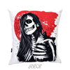 Mexican Skull velvet decorative square Pillow Cover