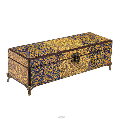 Wooden Persian Treasure Box