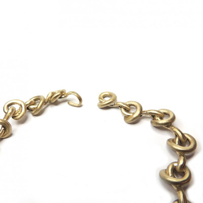 Collana Solid Bronze necklace Made in Italy
