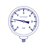 "1/4"" Pressure Gauges UK"