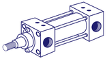 Tie Rod Pneumatic Cylinders UK Online Store