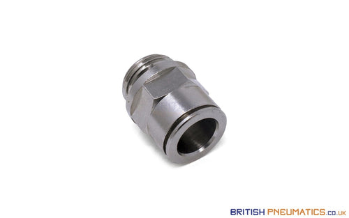 1/2 To 14Mm Push-In Fitting (Nickel Plated Brass) General