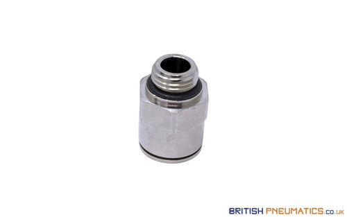 1/4 Bsp To 12Mm Male Stud Push-In Fitting (Nickel Plated Brass) General
