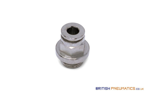 1/4 Bsp To 4Mm Male Stud Push-In Fitting (Nickel Plated Brass) General