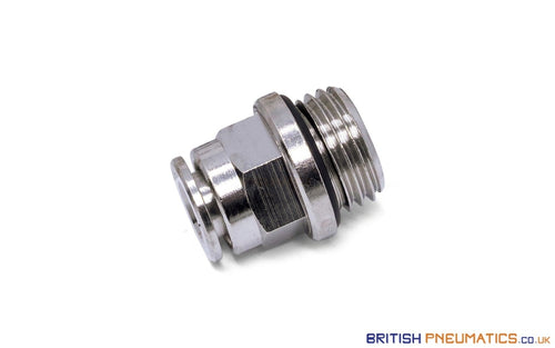 1/4 Bsp To 6Mm Male Stud Push-In Fitting (Nickel Plated Brass) General